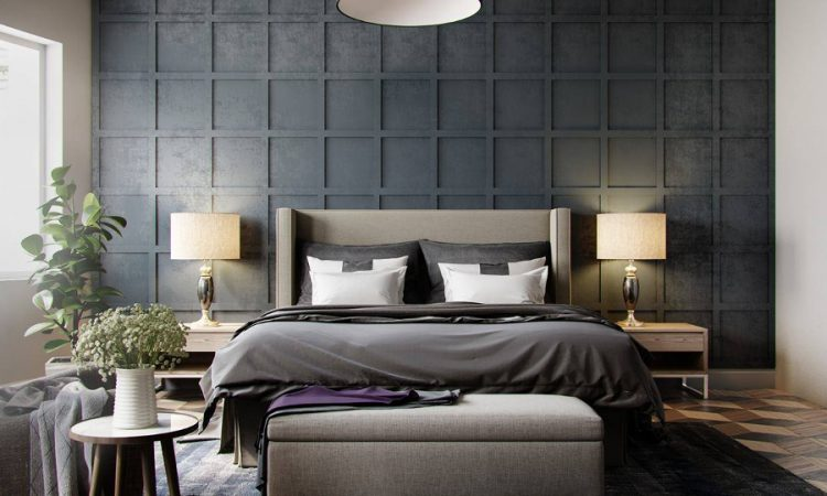 dress your bed this winter with stylish grey tones