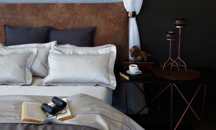 Oyster bed linen African safari