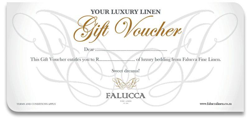 Falucca Fine Linen gift voucher