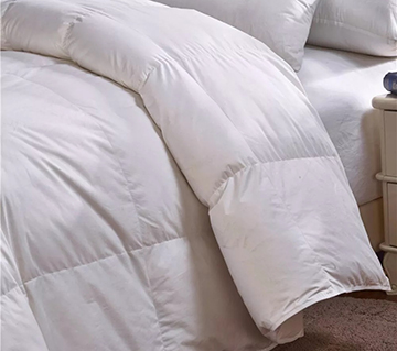 Summer, autumn and winter weight pure down duvets