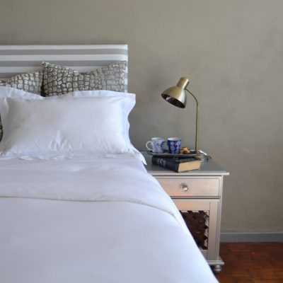 Falucca Linen white bedding Timeless Collection.