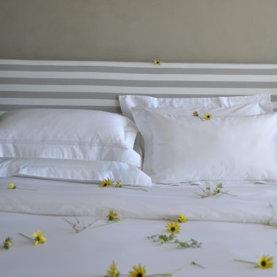 Falucca Fine Linen white egyptian cotton bedding