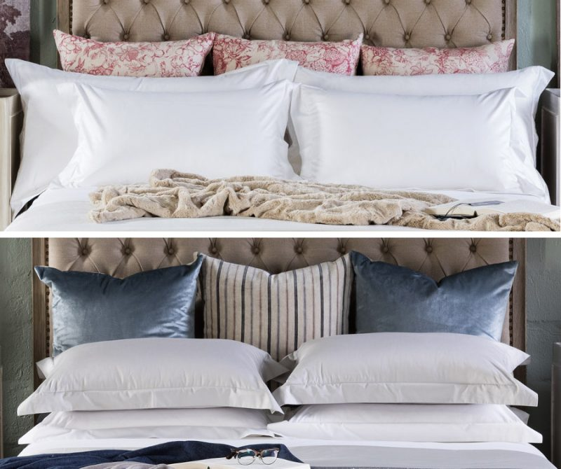 scatter cushions block & chisel collaboration bedroom