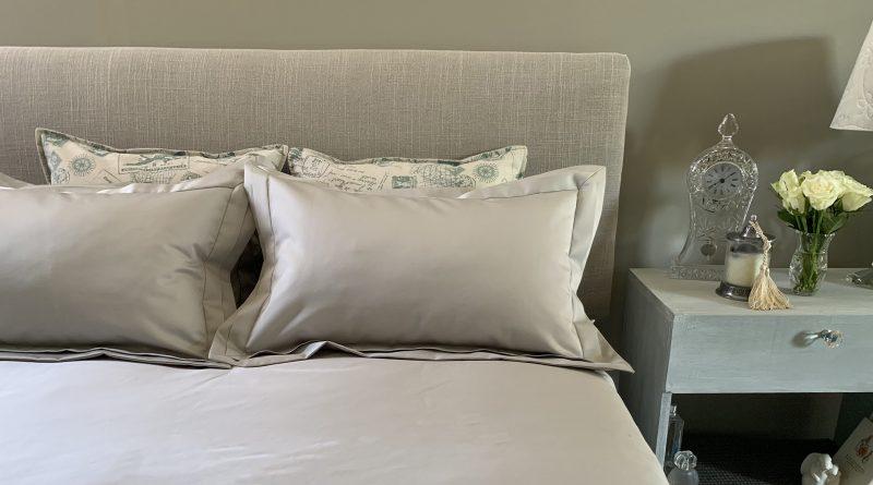 French Boudoir bed linen Falucca Linen