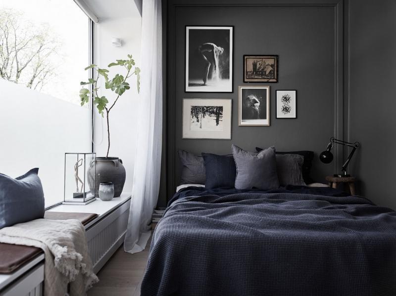 Charcoal bedroom